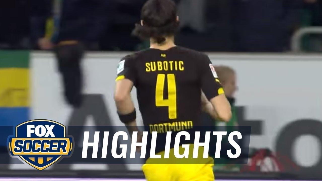 Vfl Wolfsburg Vs Borussia Dortmund 2015 16 Bundesliga