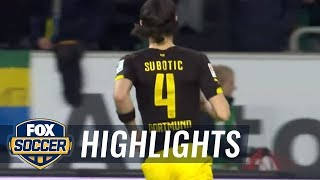 Vfl Wolfsburg Vs. Borussia Dortmund | 2015–16 Bundesliga Highlights