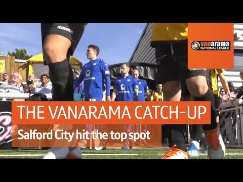 Vanarama National League Highlights: Salford City hit the top spot