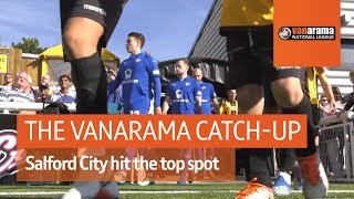 Vanarama National League Highlights: Salford City hit the top spot
