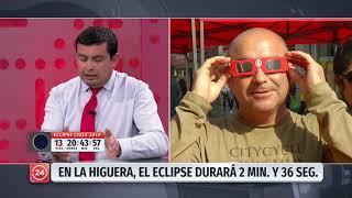 """Alcalde de La Higuera: """"Es donde el eclipse durará más tiempo, tenemos conectividad y buen clima"""""""