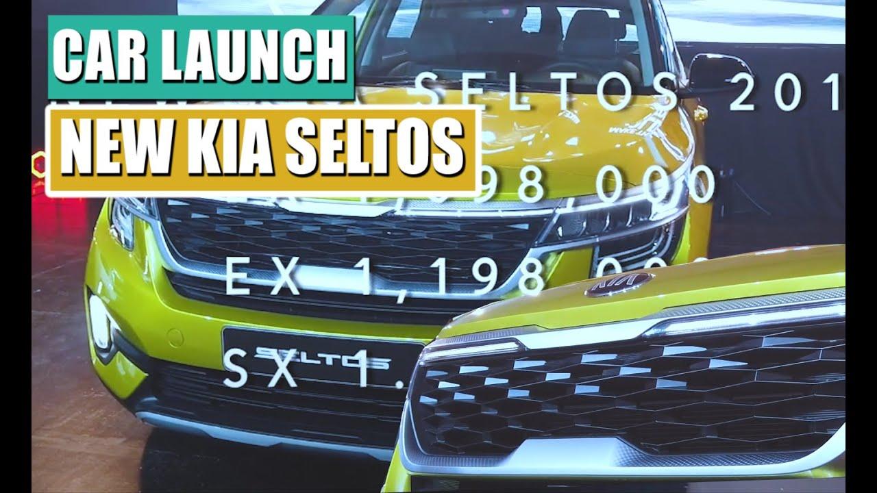 New Kia Seltos Launch