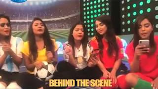 Lets Goal - Behind the Scene with Song Oporadhi | World Cup 2018 | Rtv