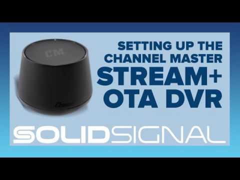 Channel Master Stream+ OTA DVR: Setup Experience