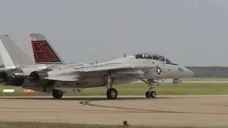 2005 NAS Oceana Airshow - F-14 Tomcat Demo (LAST TIME)