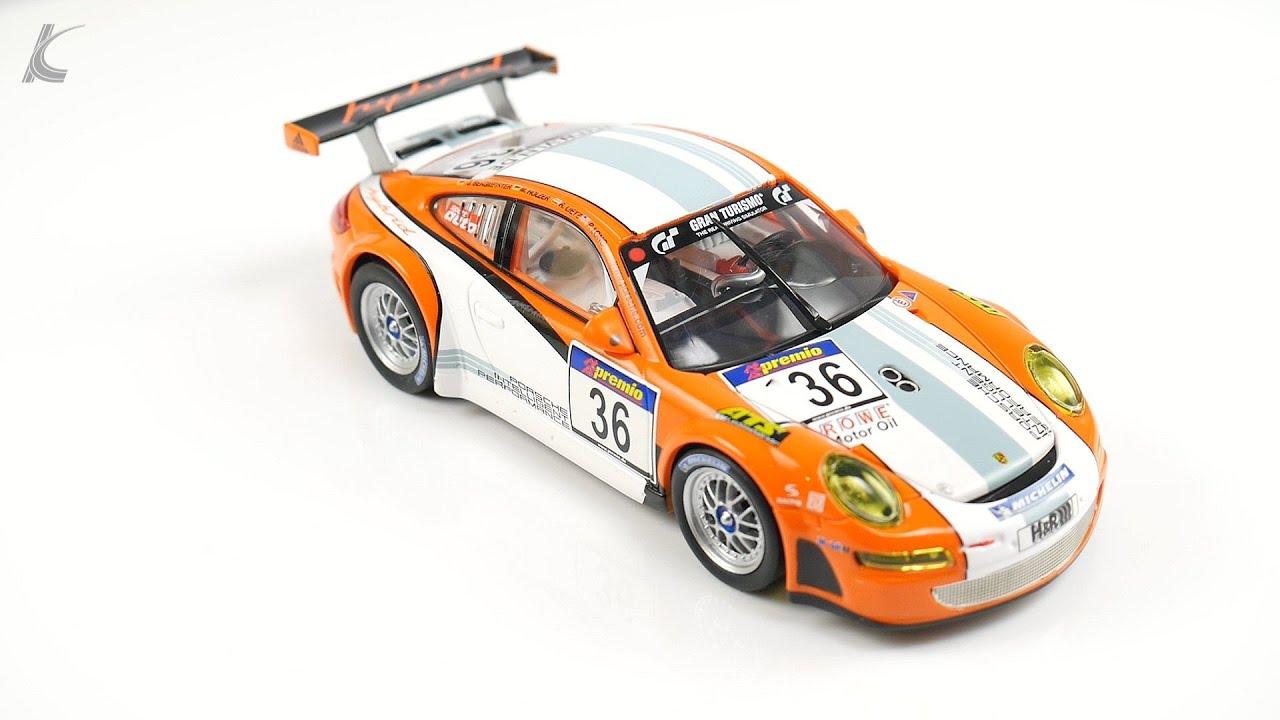 Carrera Digital 132 Porsche GT3 RSR Hybrid Nr.36 VLN 2011 Art.Nr ...