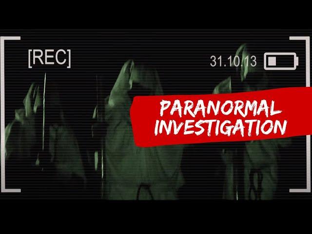 Horror short film - Paranormal Investigation (Malaysia)