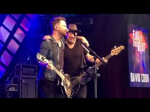 David And Monty Sing Light On At Eat To The Beat 2015