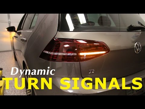 MK7 Dynamic Turn Signal Harness