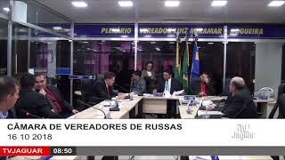 SESSÃO CÂMARA DE RUSSAS 16 10 2018