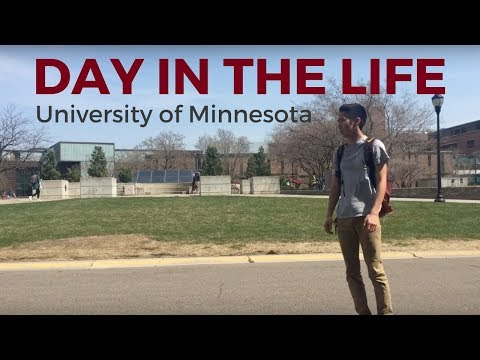 Day In The Life - Student At The University Of Minnesota