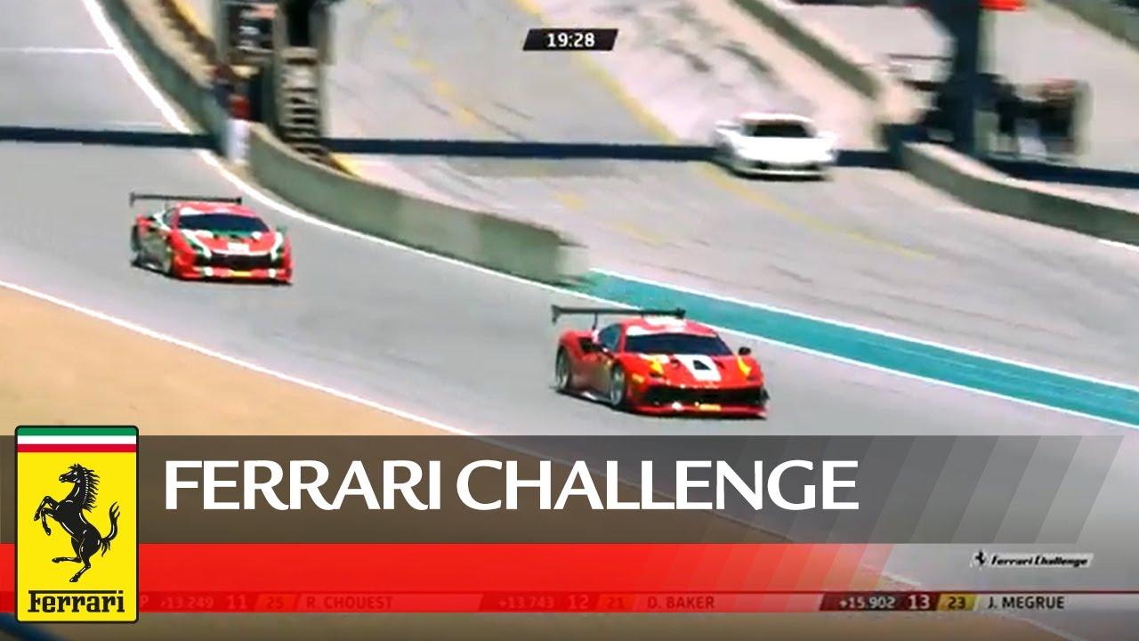 Ferrari Challenge North America Laguna Seca Trofeo Pirelli Race 2 Youtube