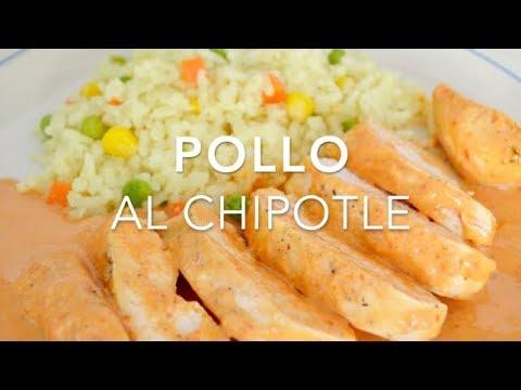 POLLO EN SALSA DE CHIPOTLE Recetas fáciles Pizca de
