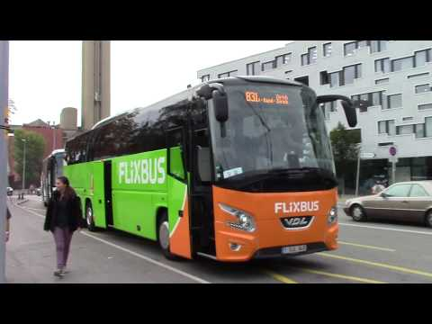 Flix Bus Trip from Basel to Heidelberg