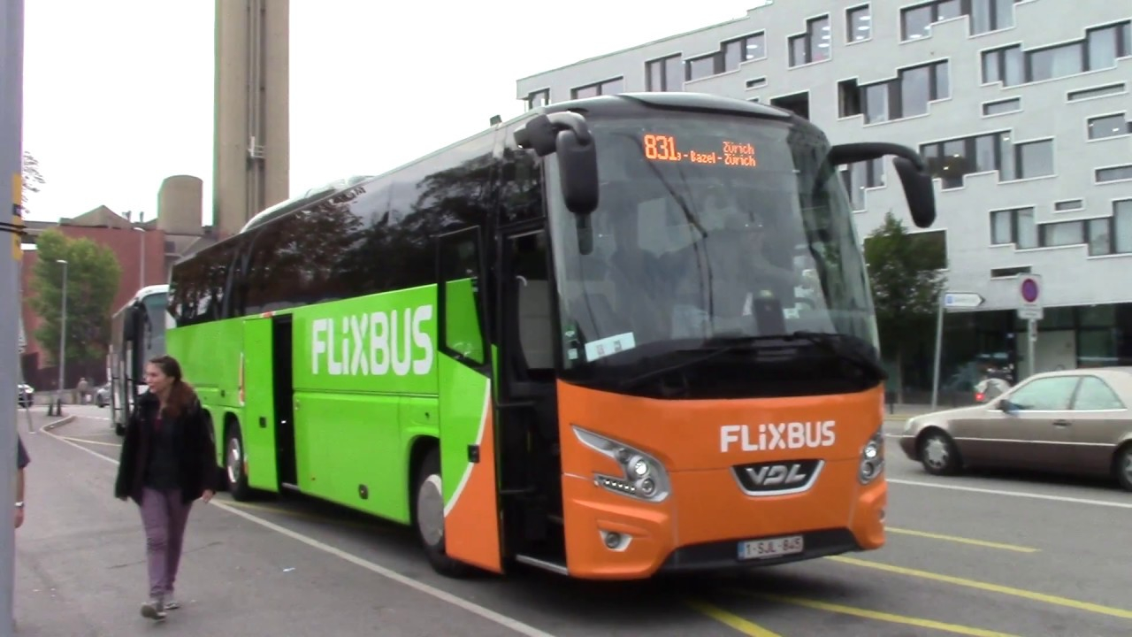 Flix Bus Trip from Basel to Heidelberg - YouTube