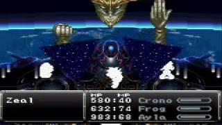 Chrono Trigger Boss Battle 37 - Zeal Transformed