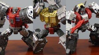 トランスフォーマーのウォー・ウィズィン版のダイノボットの立体物が全...