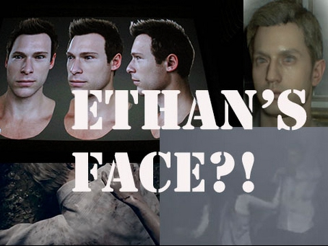 Ethan S Face Theory Re7 Youtube