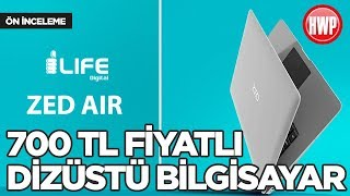 700 TL'ye dizüstü bilgisayar! | i-Life Zed Air