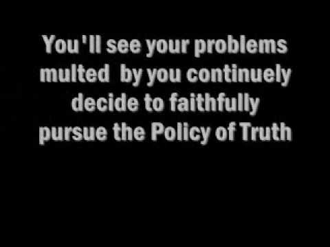 depech mode Policy of Truth lyrics