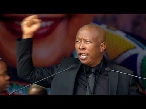 EFF Leader CIC Malema pays tribute to Mama Winnie