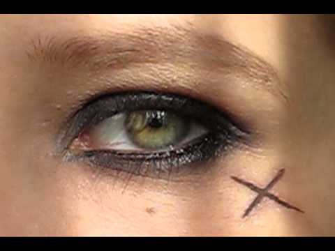 Jack Sparrow Pirates Of The Carribean Girl Make Up Youtube