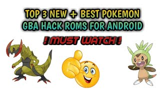 new best hack pokemon gba roms for android 2018