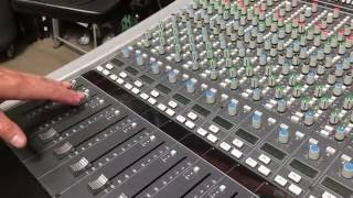 ssl solid state logic aws 900 analogue mixer console daw controller demo