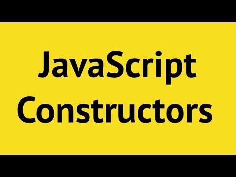 JavaScript Constructor Functions