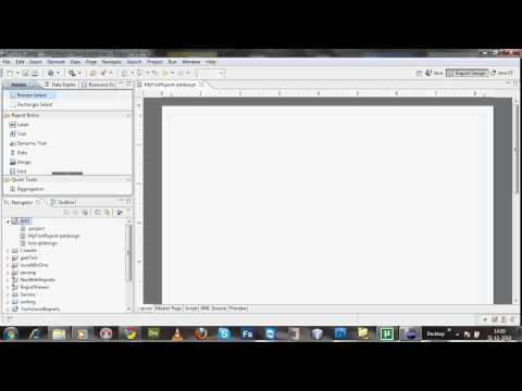 Your first BIRT report in eclipse designer -Part 1 - YouTube