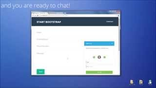 PHP Live Support Chat - Installation & use with HTML website