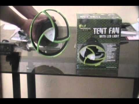 IRONMAN 4X4 Tent fan & IRONMAN 4X4 Tent fan - YouTube