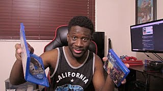 Kingdom Hearts 3 Early Unboxing & Resident Evil 2 | Gaming In 2019 Already 🔥🔥🔥