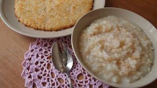 Нурунджи (누룽지) и нурунжди тханг (누룽지탕) или жареный рис и каша из жареного риса
