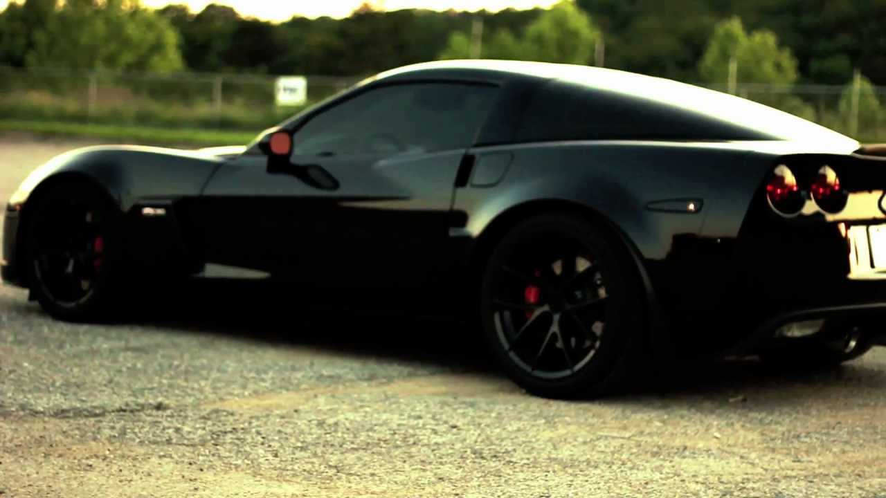 Blacked Out Z06 C6 Vette - YouTube