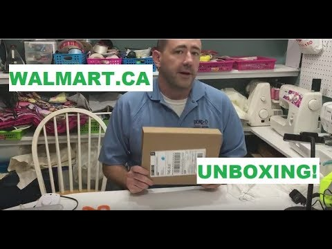 Unboxing From Walmart.ca