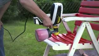 Wagner Flexio 585 - Spraying Outdoor Furniture