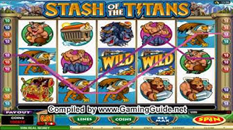 All Slots Casino Stash Of The Titans Video Slots
