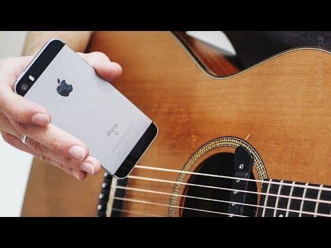Можно ли записать гитару на IPhone?