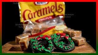 Dark Chocolate KRAFT Caramels Christmas Wreaths Tutorial