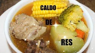 Caldo De Res /beef Soup,cola De Res,(latabasqueÑa)