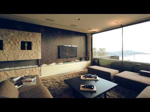 Villa Altaïr Real Estate Movie Modern Architecture