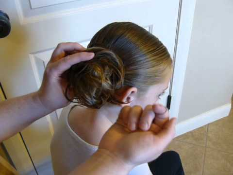 Dance Magic Class Hairstyle Low Messy Bun Youtube