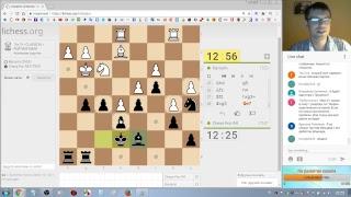 Шахматы. Прямая трансляция на lichess.org: игра и общение со зрителями
