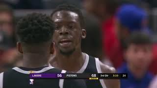 GAME RECAP  Pistons 111, Lakers 97   NBA