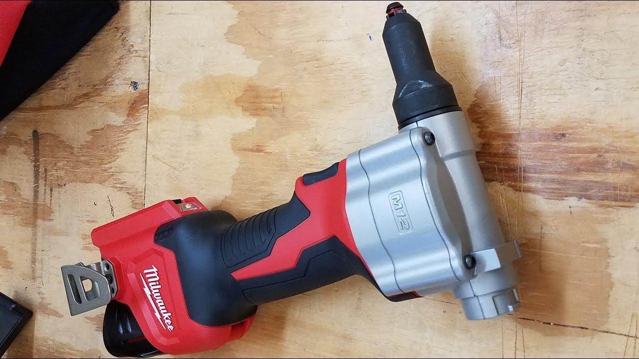 Milwaukee M12 Cordless Rivet Tool Review