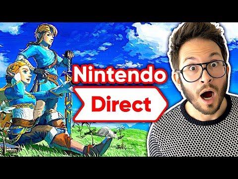 Nintendo Direct E3 2019 : L'INCROYABLE SURPRISE du chef 🤩