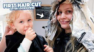 FIRST HAIR CUT (after lockdown)