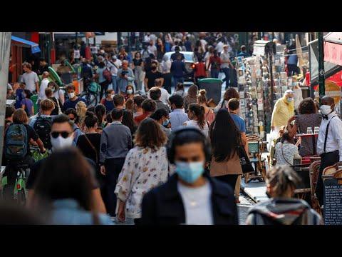 France Places Paris On Top Covid-19 Alert Level As Virus Resurges