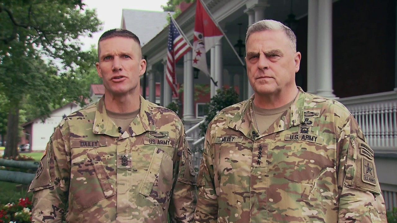 Army Birthday Greeting 2017 Csa General Mark Milley And